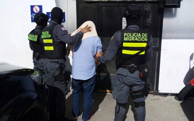 Detienen a 47 miembros de red de tráfico de migrantes en Costa Rica y Panamá