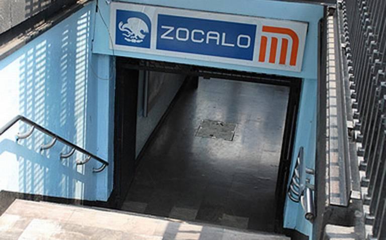 Por informe de AMLO, cierran estación Zócalo del Metro