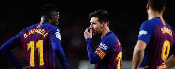 Messi se lesiona en primer entrenamiento con Barcelona