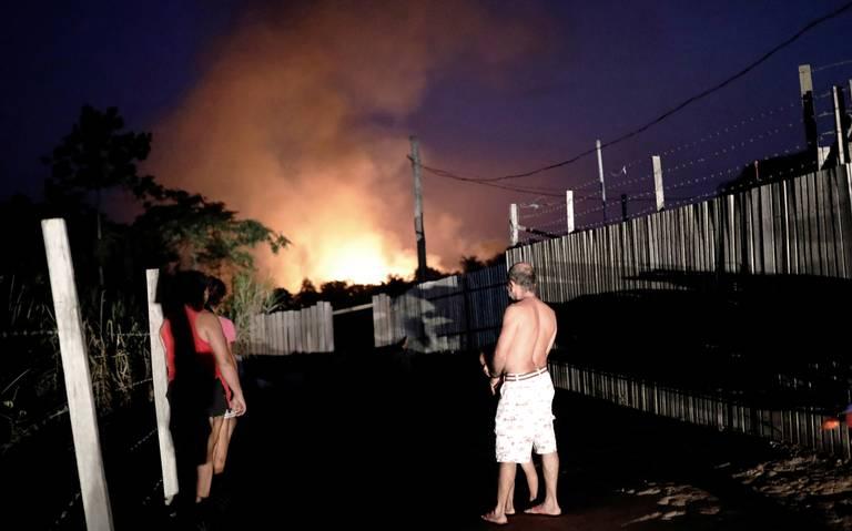 Incendios en el Amazonas amenazan a indígenas aislados