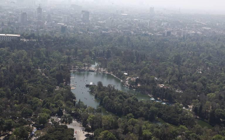 Lista cuarta sección del Bosque de Chapultepec en 2020