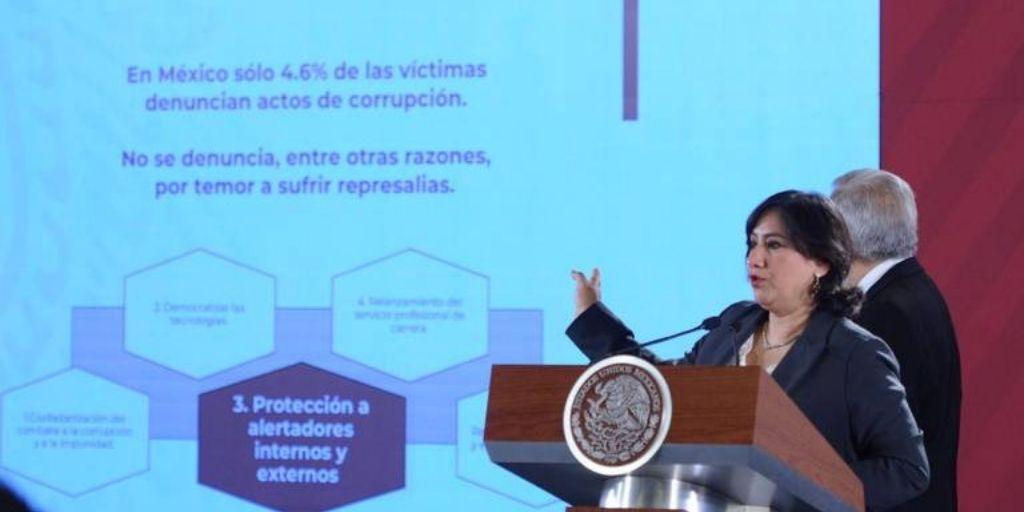 Gobierno presenta programa para que ciudadanos denuncien corrupción