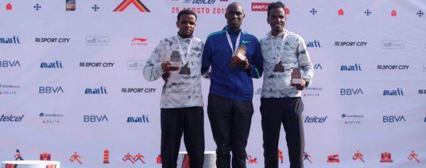 Keniano Duncan Maiyo fue el ganador en el Maratón de la CDMX