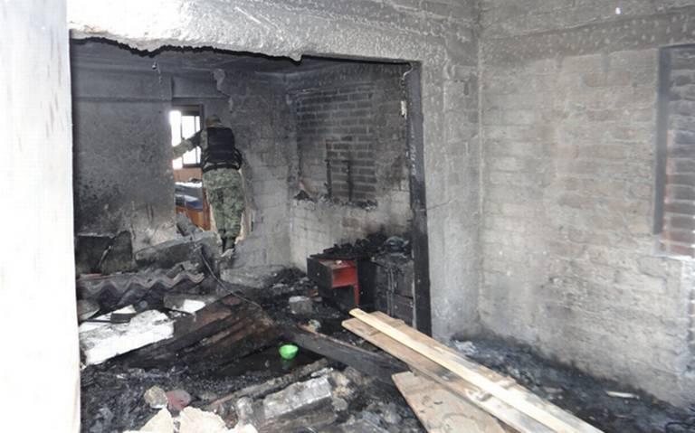 Estalla almacén de pólvora en Zinacantepec