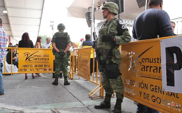 Legal, vigilancia de Guardia Nacional en el Metro