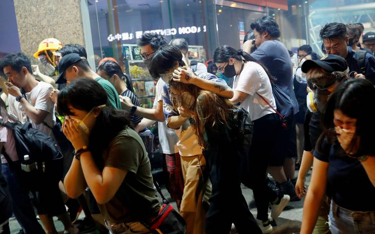Alarma a EU paramilitares en Hong Kong