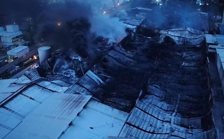 Controlan incendio en Ciudad Industrial, Morelia