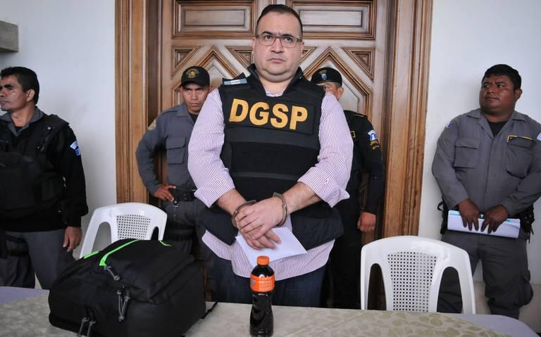 Juez admite solicitud de amparo de Javier Duarte, podría quedar libre
