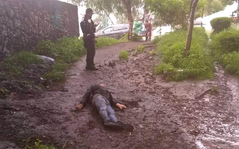 Cae rayo a joven y lo mata en Tláhuac