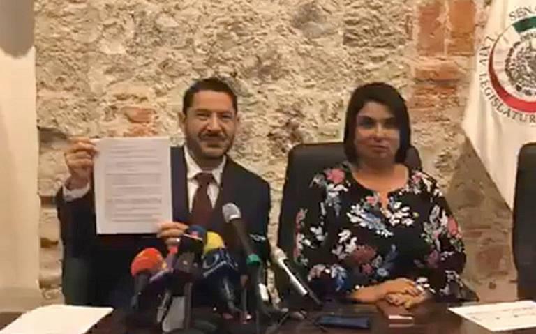 Comisión de Morena invalida elección de Mesa Directiva en Senado