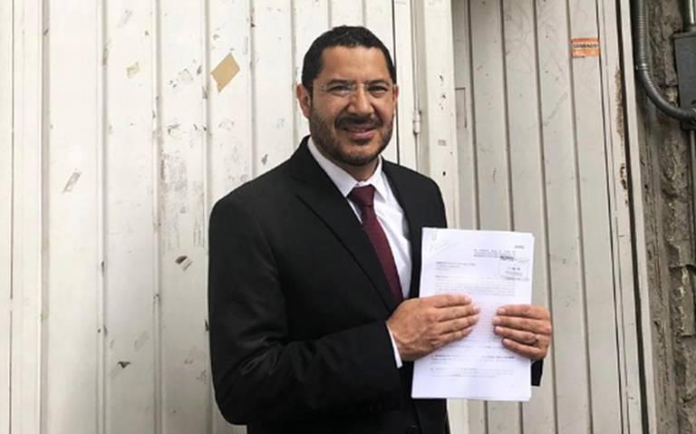 Martí Batres presenta queja contra elección a presidencia del Senado
