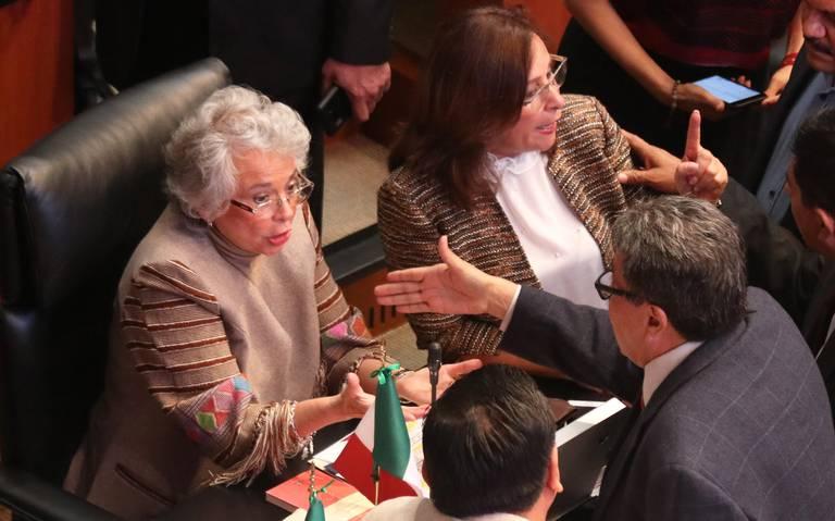 Vislumbran el regreso de Olga Sánchez al Senado
