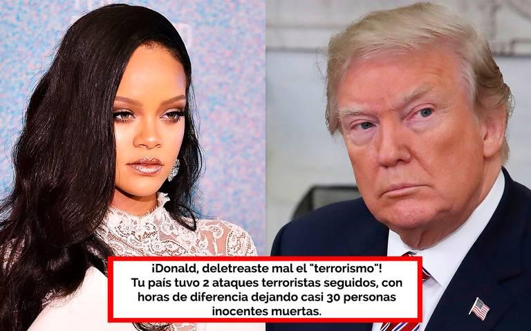 Es más fácil obtener un AK-47 que una visa: Rihanna lanza fuerte mensaje a Trump