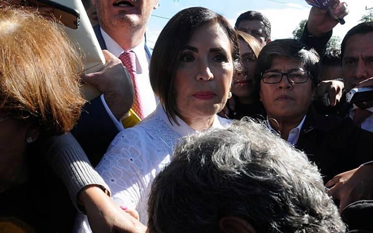 Vinculan a proceso a Rosario Robles, permanecerá recluida en Santa Martha