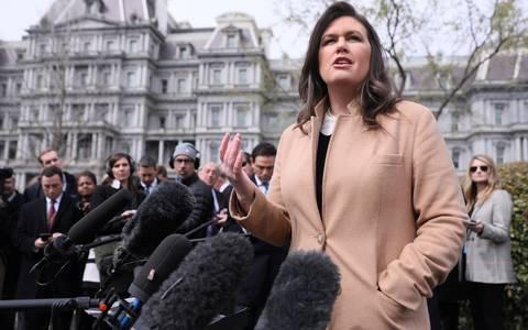 Fox News ficha a la exportavoz de la Casa Blanca Sarah Sanders
