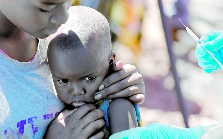 El sarampión mata más que el ébola en el Congo