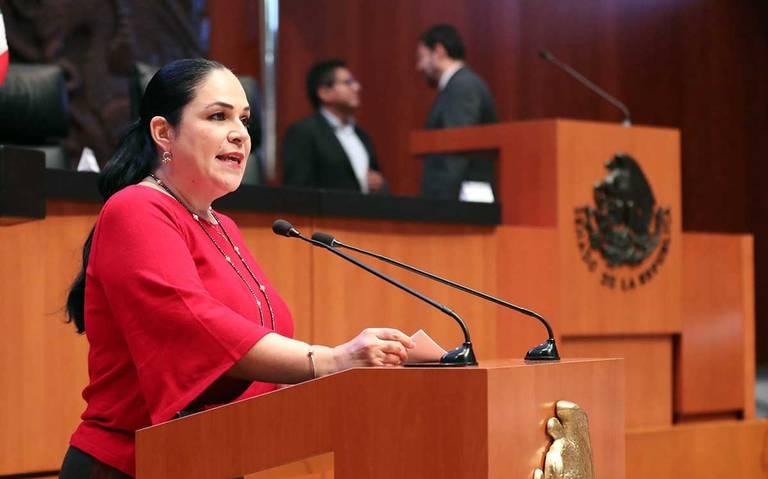 Morena elige a Mónica Fernández como presidenta de la Mesa Directiva del Senado