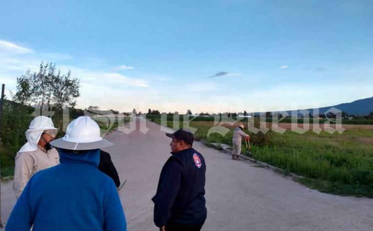 Fuga de gas causa alarma en Acajete; cierran la autopista México – Puebla