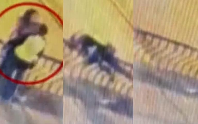 [Video] Mueren enamorados tras caer de puente peatonal en Perú