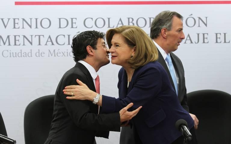 Virgilio Andrade y Arely Gómez sabían de la Estafa Maestra