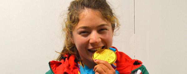 Beatriz Briones vive un sueño lindo tras triunfar en Lima 2019