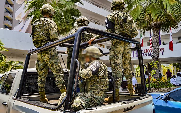 Llagan más elementos de la Guardia Nacional a Acapulco