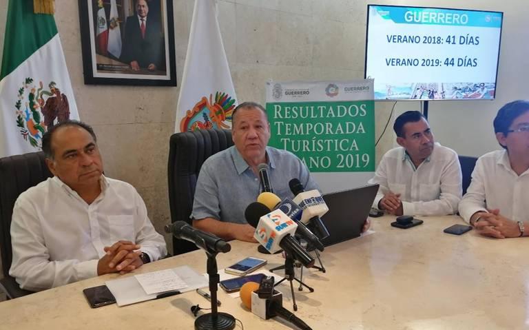 Más de un millón y medio de turistas visitaron Guerrero en temporada vacacional