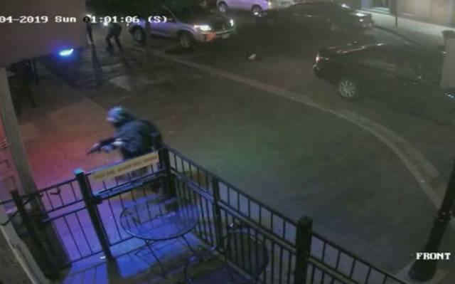 [Video] Revelan momento en que abaten a tirador en Ohio