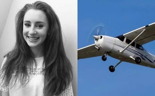 En pleno vuelo, estudiante abre puerta de avión y salta al vacío