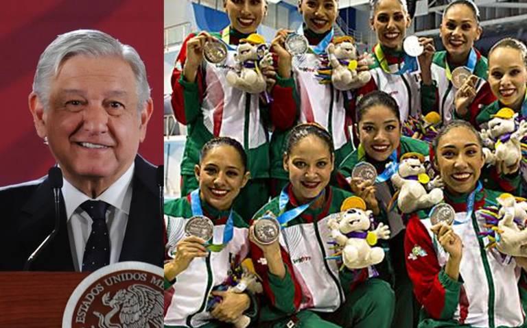 """""""Gobierno tiene deuda con deportistas"""", reconoce AMLO"""