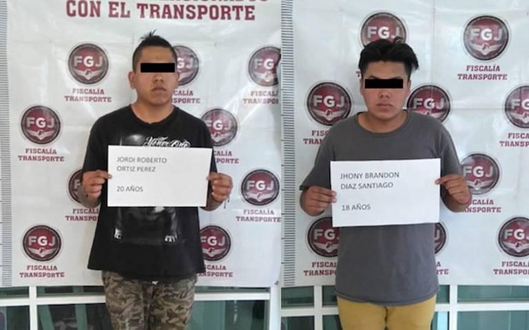 Caen dos presuntos extorsionadores de Tecámac y Zumpango