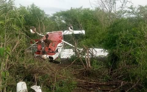 Avioneta se desploma en Mazatlán