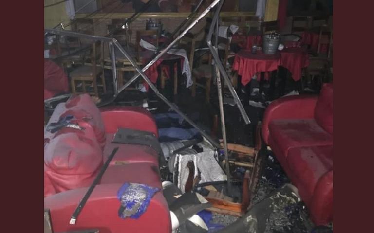 Autoridades identifican a presunto autor de ataque en bar de Coatzacoalcos