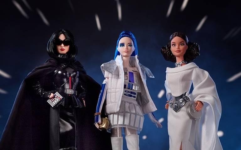 ¡Barbie lanza nueva colección inspirada en Star Wars!