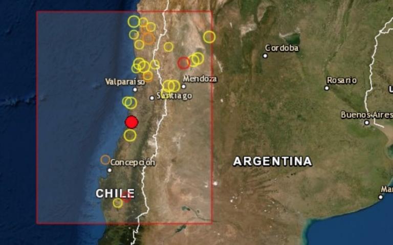 Sismo de magnitud 6.4 sacude Chile