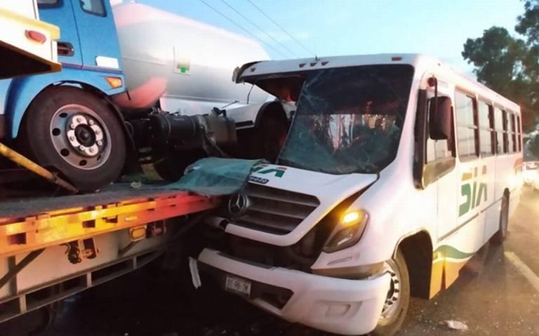 Chofer se quedó dormido y ocasionó una tragedia en Aguascalientes