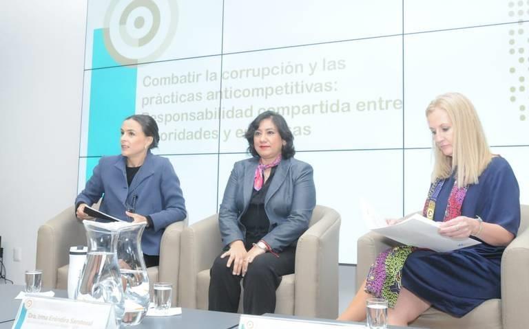 Cofece y SFP firman acuerdo para combatir corrupción
