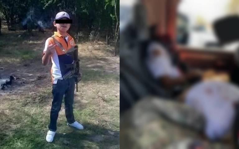 Juanito Pistola, el niño sicario al que le estallaron la cabeza en Tamaulipas