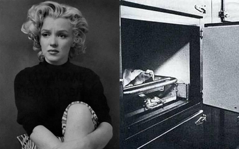 Revelan existencia de fotos inéditas de Marilyn Monroe en la morgue
