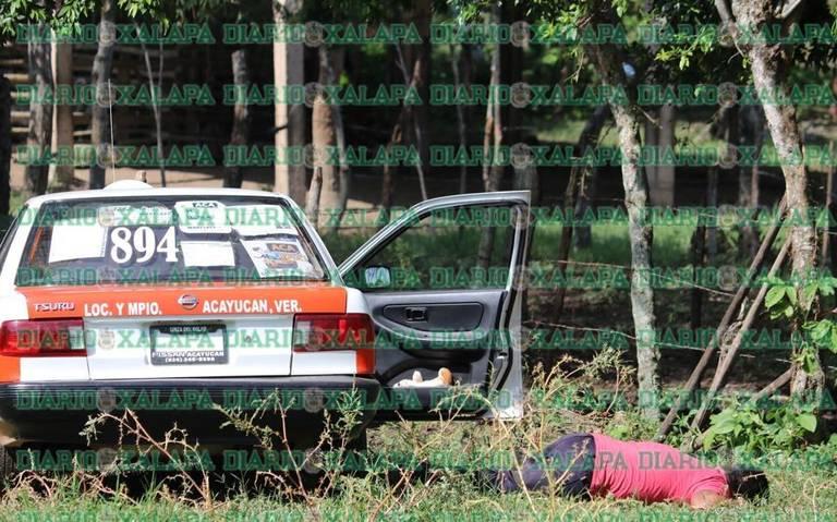 Taxista es ejecutado a balazos en Oluta