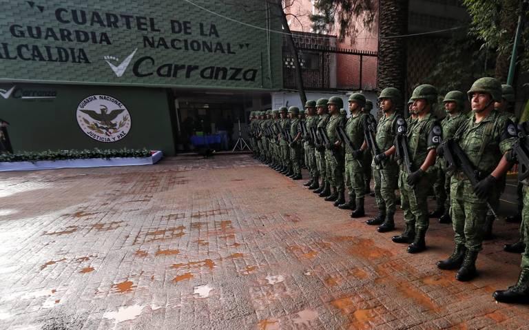 Abren segundo cuartel para Guardia Nacional en la Venustiano Carranza