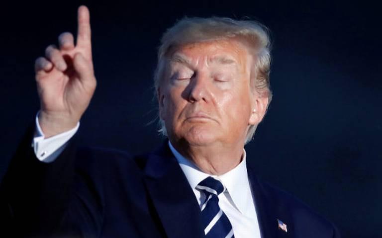 "¿Trump sugiere lanzar bombas nucleares a huracanes para ""proteger"" a su país?"