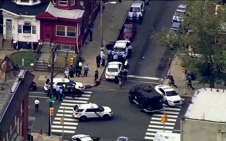 Tiroteo en Filadelfia deja varios policías heridos