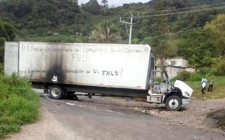 Frente Nacional de Lucha por el Socialismo, foco rojo en Los Altos de Chiapas