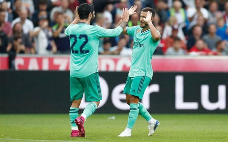 El Real Madrid le gana al Salzburgo en partido amistoso