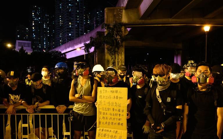 Estudiantiles de Hong Kong llaman a una huelga universitaria