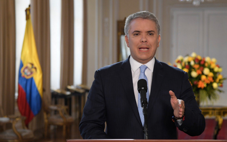 Iván Duque anuncia ofensiva contra los exjefes de FARC