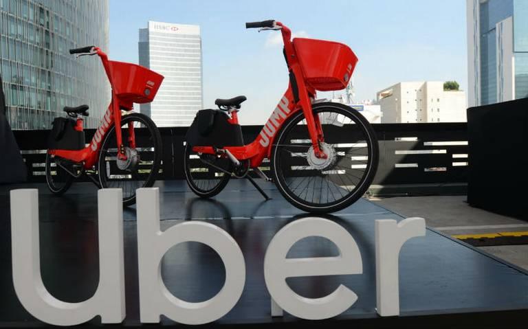 Amplía Uber su operación en la CDMX: ahora va con bicicletas Jump