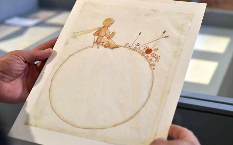 ¡Encuentran bocetos de El Principito realizados por Antoine de Saint-Exupéry!