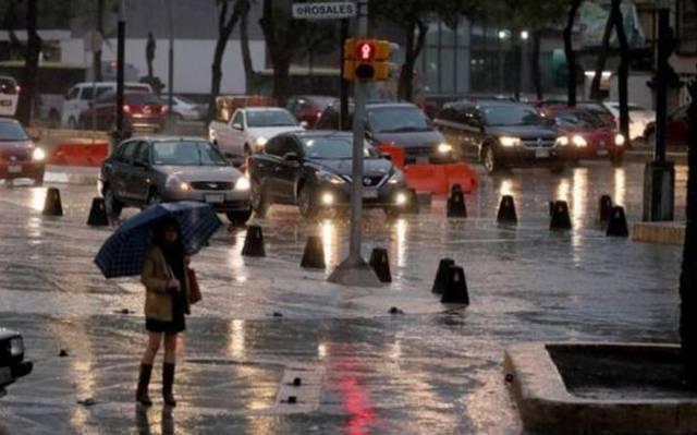 Se pronostica lluvia vespertina el Valle de México